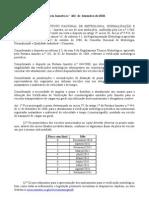 Portaria-InMETRO462-2010 Prazo Para Afer