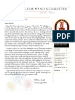 January 2013 Newsletter