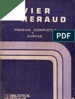 61994985 Poesias Completas y Cartas Javier Heraud 1961 1963