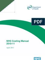NHS Cost Manual