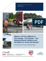 Border Policy Brief
