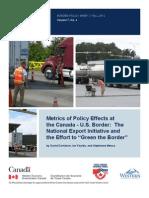 Border Policy Brief