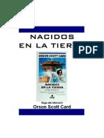 Card, Scott Orson - SR5, Nacidos en La Tierra