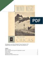 Ghid Muntii Ciucas 1965