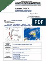 "NDRRMC SWB no. 2 Tropical Depression ""Bising"""
