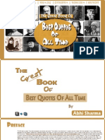 The Great Book of Best Quotes of All Time. | Original |
