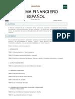 uned sistema financiero español