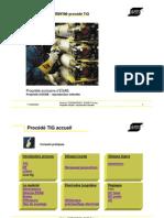 Guide ESAB sur le procédé de soudage Tungsten Inert Gas (TIG)