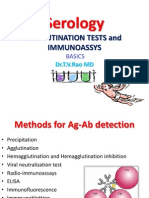 AGGLUTINATION TESTS and IMMUNOASSYS