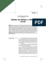 Estudos de genero e Historia Social