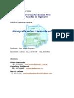 Monografía Transporte Refrigerado