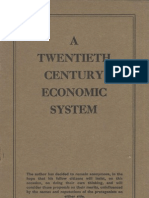 Anon - A Twentieth Century Economic System (1943)