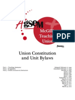 AGSEM Constitution