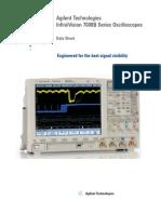 DSO7034B Data Sheet