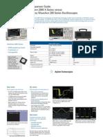 versus LeCroy WaveAce 200 Series Oscilloscopes