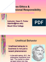 Business Ethics Professional Responsibility