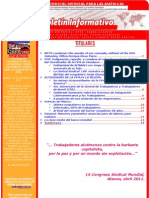 Boletín FSM-América No  258