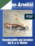 [Marine-Arsenal 034] Torpedoschiffe Und Zerstorer Der K.u.K Marine