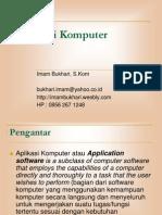 Materi 1 Pengantar Aplikasi Komputer