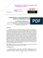 Compositional and Environmental Factors Role on Compression Index