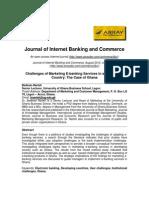 Journal on E-Banking