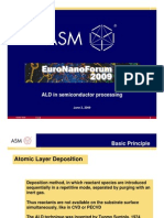 ALD in Semiconductor Processing
