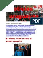 Noticias Uruguayas sábado 12 de enero del 2013
