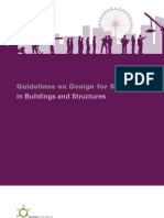 Guidelines on Design for Safety in Buildings and Structures