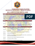 Nfjpia Region III Constitution & by-laws - Final Version