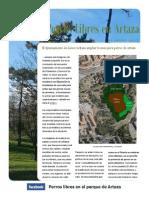 El Ayuntamiento de Leioa rechaza ampliar la zona para perros de Artaza