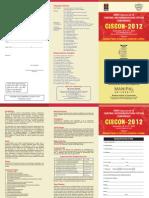 Drdo-ciscon 2012 Broucher