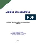 Lipídios em Superfícies
