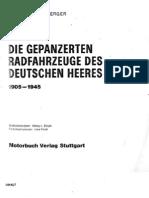 [MotorBuchVerlag Militärfahrzeuge 004] [Spielberger] Die Gepanzerten Radfahrzeuge des Deutschen Heeres 1905-1945