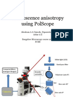 Fluorescence anisotropy using PolScope
