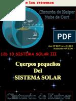 Cinturín de Kuiper NUbe de Oort