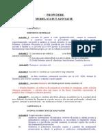 Model Statut Asociatie Parinti