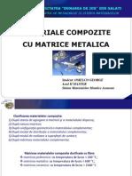 Materiale Compozite Cu Matrice Metalica