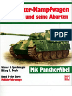 [MotorBuchVerlag Militärfahrzeuge 009] [Spielberger] Der Panzerkampfwagen Panther und seine Abarten [ENG]