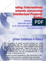WTO, WIPO PPT TRIPS and international treaties
