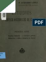 Estudios crítico-históricos de Galicia