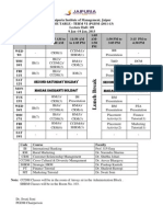 Time-Table(9-19 Jan,2013)-PGDM 2011-13