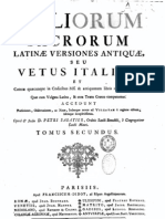 Bibliorum Sacrorum Latinae Versiones (Liber Psalmorum)