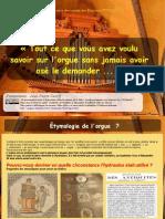 Histoire de l'orgue