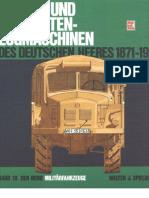 [MotorBuchVerlag Militärfahrzeuge 010] [Spielberger] Die Rad- und Vollketten-Zugmaschinen des Deutschen Heeres 1871-1945