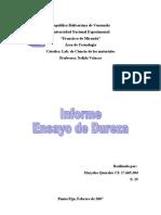 Informe Cs Ensado de Dureza