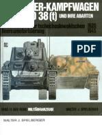 [MotorBuchVerlag Militärfahrzeuge 011] [Spielberger] Die Panzerkampfwagen 35(t) und 38(t) und Ihre Abarten