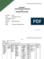SILABUS KIMIA 2012-2013