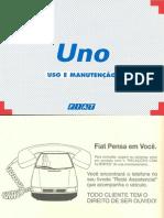 Manual do Proprietário do Fiat Uno SX