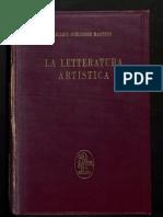 Julius Schlosser, La Letteratura Artistica (Ed. 1964)