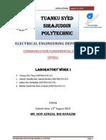 Communication system (AM) report 1